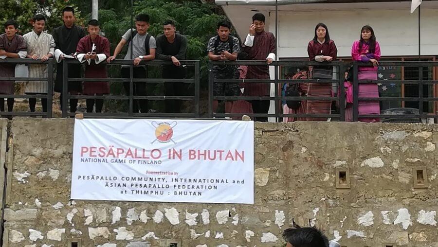 Usko tai älä! – Pesäpallo löysi tiensä Bhutaniin