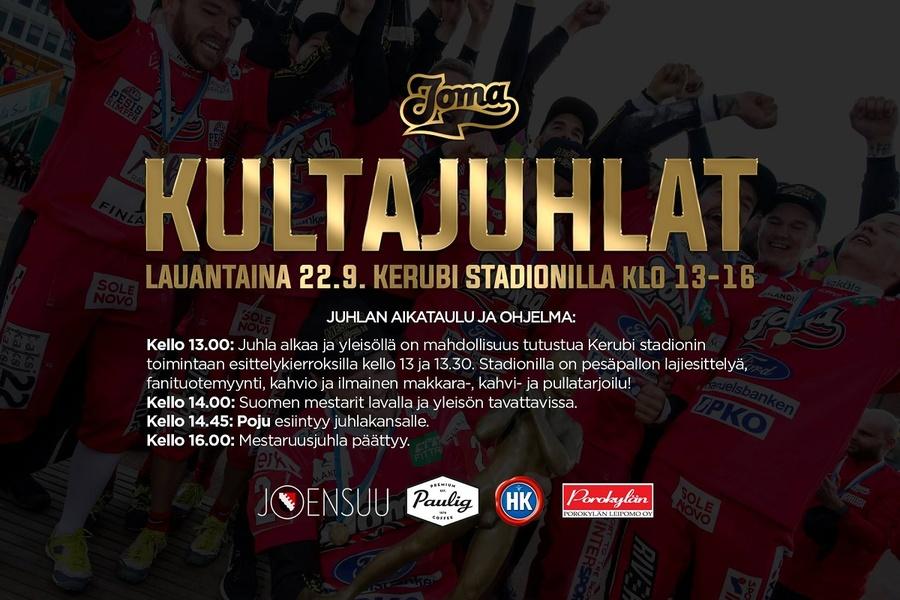 Kerubi Stadion täyttyy jälleen lauantaina – Joensuun Mailan mestaruusjuhlat kaikelle kansalle!