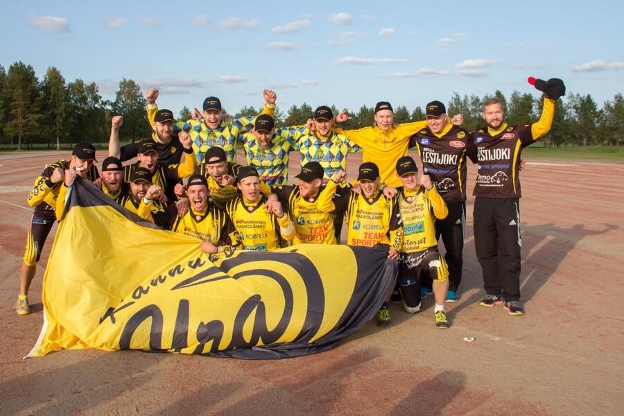 Simon Kiri ensimmäinen lappilainen joukkue miesten Ykköspesiksessä, Kannuksen Uralle historiallinen sarjanousu