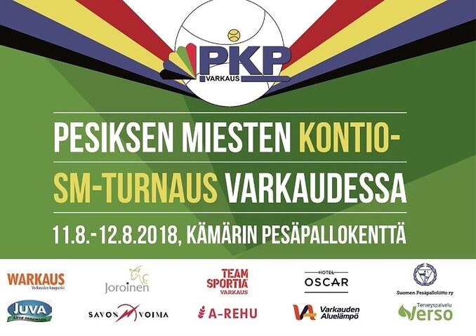 Kontioiden SM-turnaus Varkaudessa viikonloppuna – joukkueita mukana ennätysmäärin