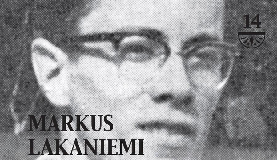 Markus Lakaniemi siirtyi ajasta ikuisuuteen