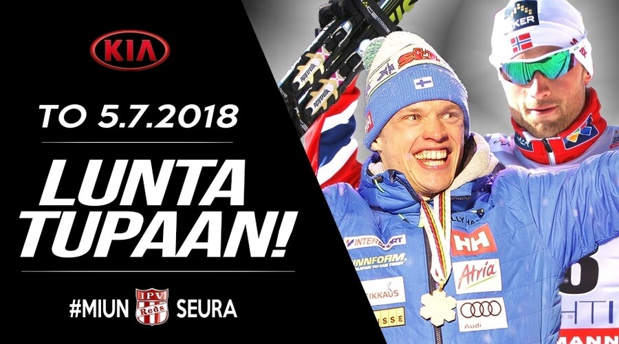 Petter Northug haastaa Suomen tähdet – Lunta tupaan jälleen Imatralla torstaina!