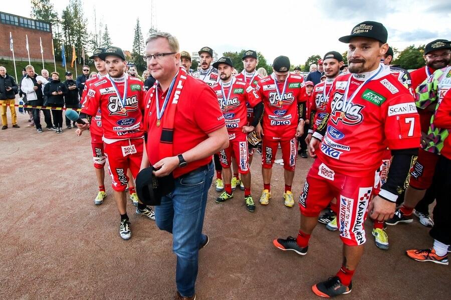 Ari Mononen iloitsee menestyksestä – Joensuun Maila mestariainesta monella mittarilla