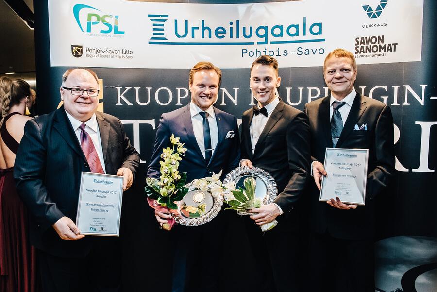 Pesäpalloseurat saivat laajasti palkintoja alueellisissa urheilugaaloissa