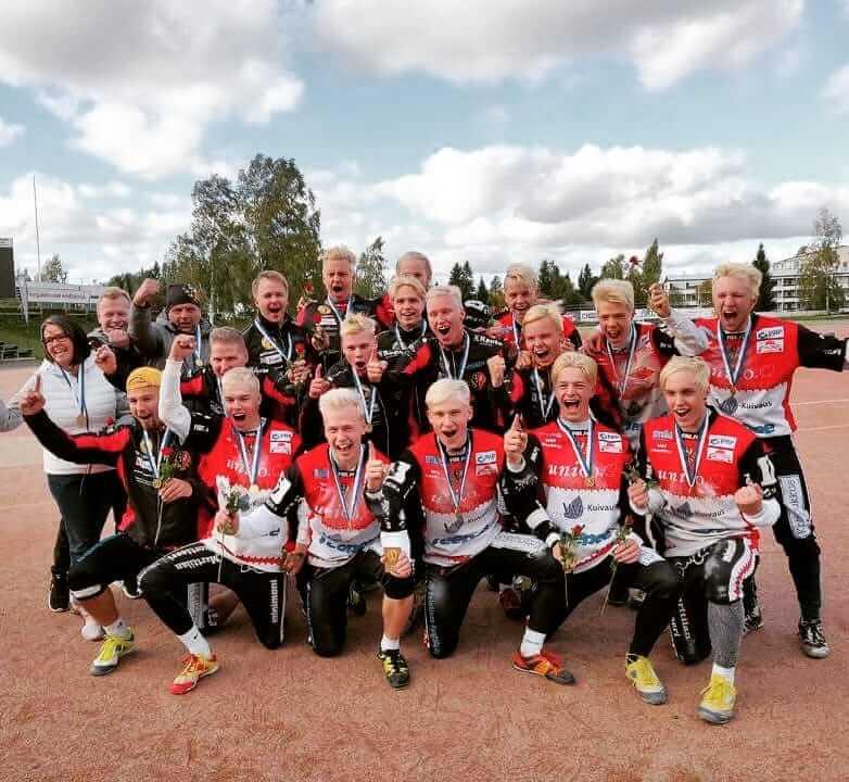 Seinäjoen Maila-Jussit on B-poikien Suomen mestari – kultajoukkue iski 25 juoksua ratkaisuottelussa!