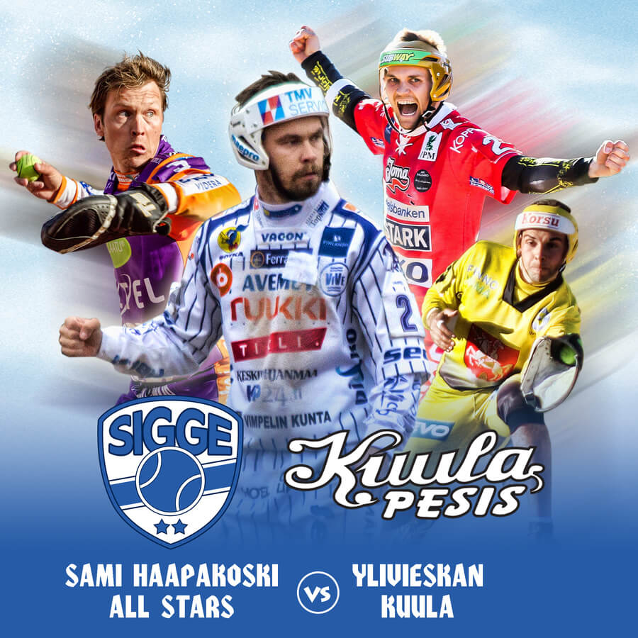 Timanttinen Sami Haapakoski All Stars tuo pesistähdet Ylivieskan Suvannolle 29.4.
