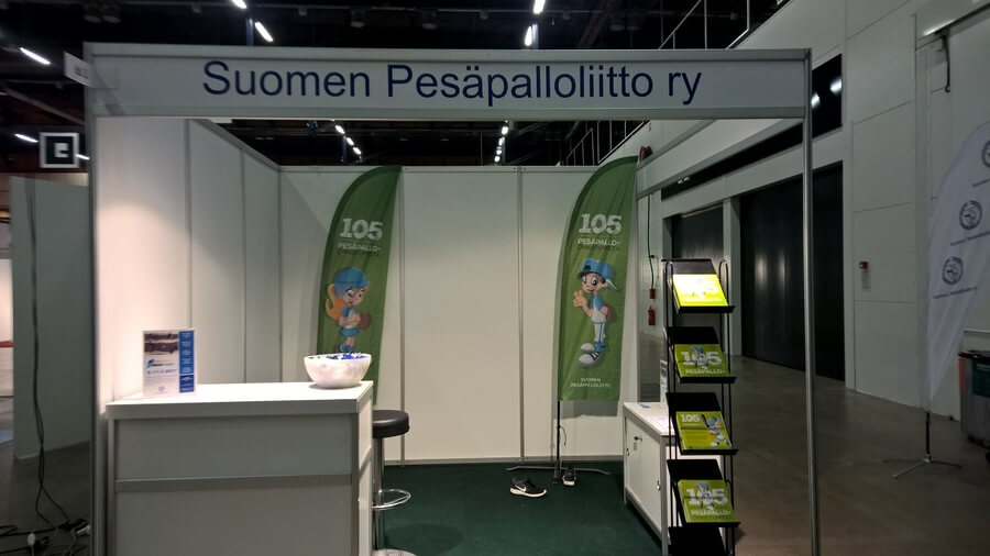 Educa-messut Helsingissä perjantaina ja lauantaina – Pesäpalloliitto mukana menossa osastolla 6s1