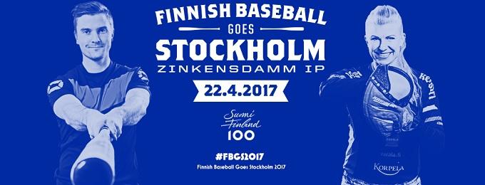 Finnish Baseball Goes Stockholm – Kaksi superpesisottelua pelataan Tukholmassa lauantaina 22.4.