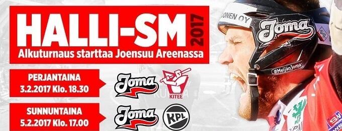Perjantai-illan huumaa Joensuussa: Halli-SM-turnaus vauhtiin Pohjois-Karjalan paikallisderbyllä
