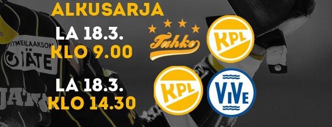Halli-SM-lopputurnauksen KPL-ottelut Koplaradiosta lauantaina