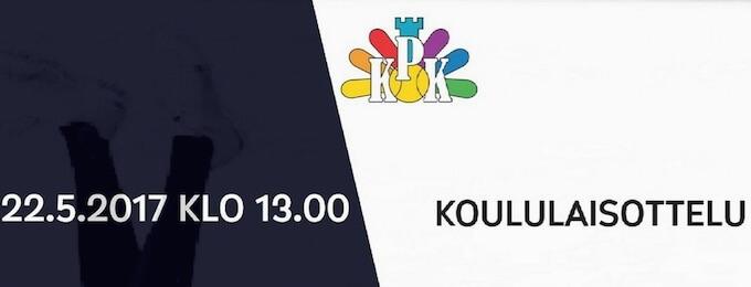VeikkausTV: Kajaanin Pallokerho ja Manse PP koululaisottelussa maanantaina kello 13