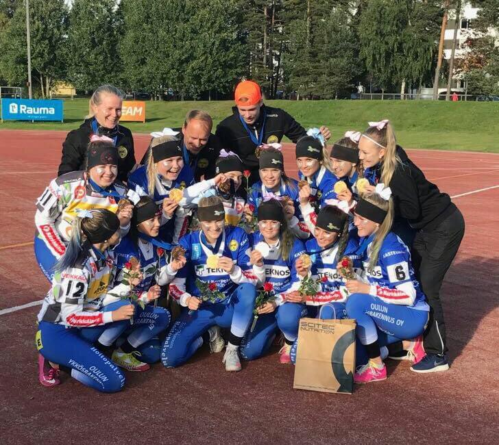 Oulun Lipottaret juhlii jälleen Suomen mestarina