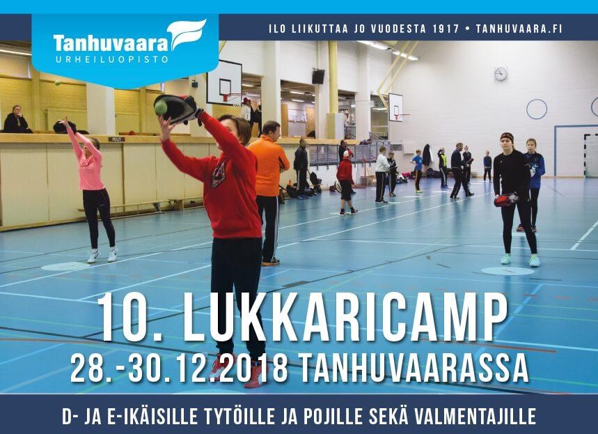 Tanhuvaaran Lukkari Camp 28.-30.12. – viimeisiä paikkoja viedään, ilmoittaudu pikaisesti!