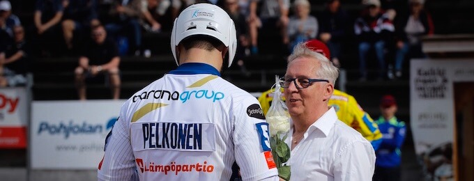 Video: Lippo Pesiksen Marko Pelkonen puhkaisi 500 lyödyn rajan lauantain voitto-ottelussa