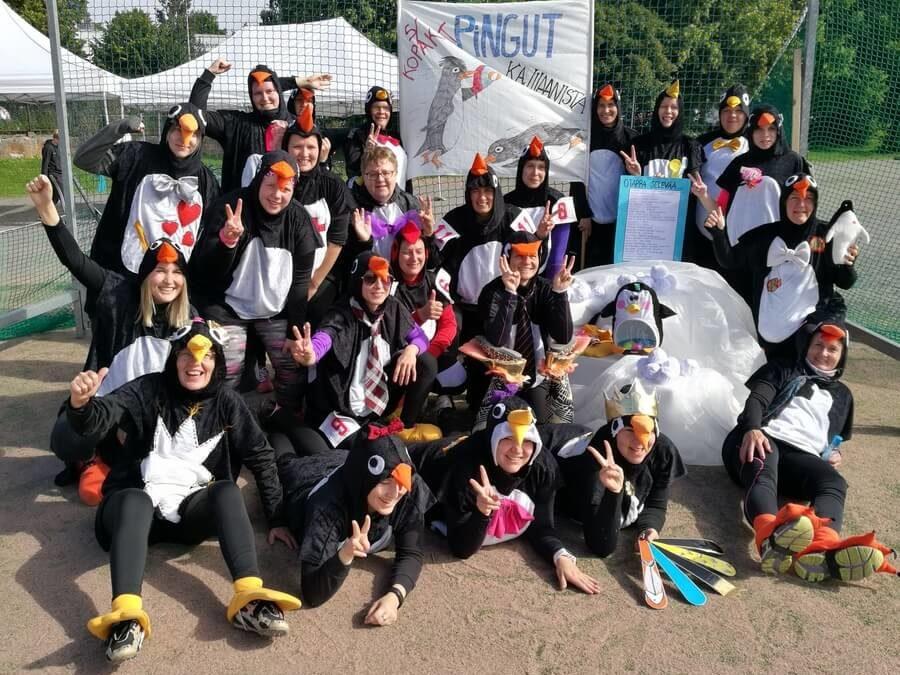 Valtakunnallinen Lady-Pesis-turnaus oli yhtä sirkusta Turussa viikonloppuna
