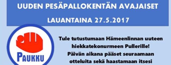 Uuden hiekkatekonurmen avajaisia vietetään Hämeenlinnassa lauantaina