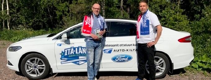 Ford Finland ja Lappeenrannan Auto-Kilta tuovat sotaveteraanit Itä-Länsi-otteluun sunnuntaina
