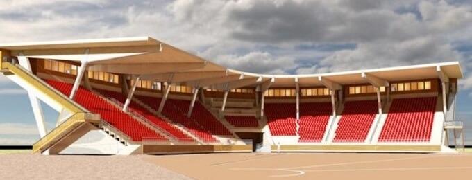 Joensuun Maila: Uudelle Mehtimäen stadionille 5000 istumapaikkaa, joista 2500 katettuja