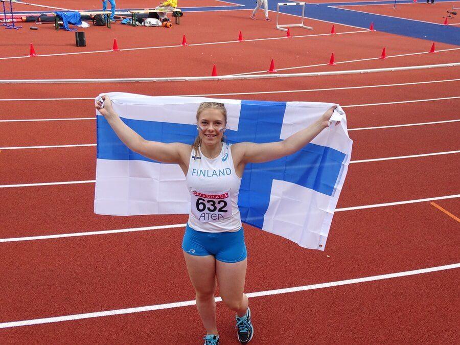 Julia Valtanen vuoden raumalaiseksi tyttöurheilijaksi, mukana Vuoden raumalainen 2017 -äänestyksessä
