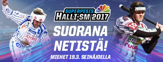 Miesten Halli-SM-lopputurnauksen ohjelmaan muutoksia – kaikilla joukkueilla ottelu sunnuntaina