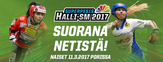 PesisTV: Naisten Halli-SM-lopputurnaus vauhtiin kello 9
