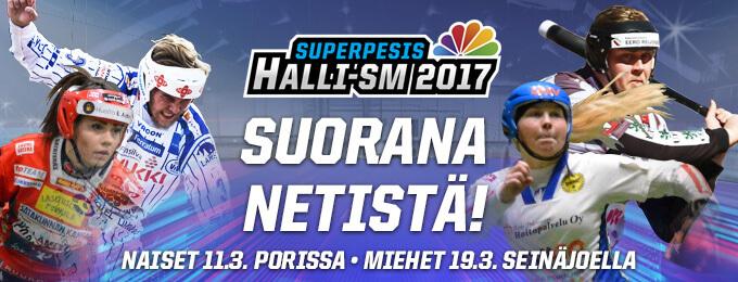 Hallimestaruudet ratkaistaan PesisTV:n suorissa lähetyksissä – turnauskohtainen katseluoikeus alle 10 euroa