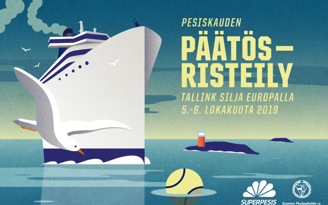 Pesiskauden päätösristeilyn viralliset matkapaketit nyt myynnissä – varmista heti oma paikkasi laivassa!