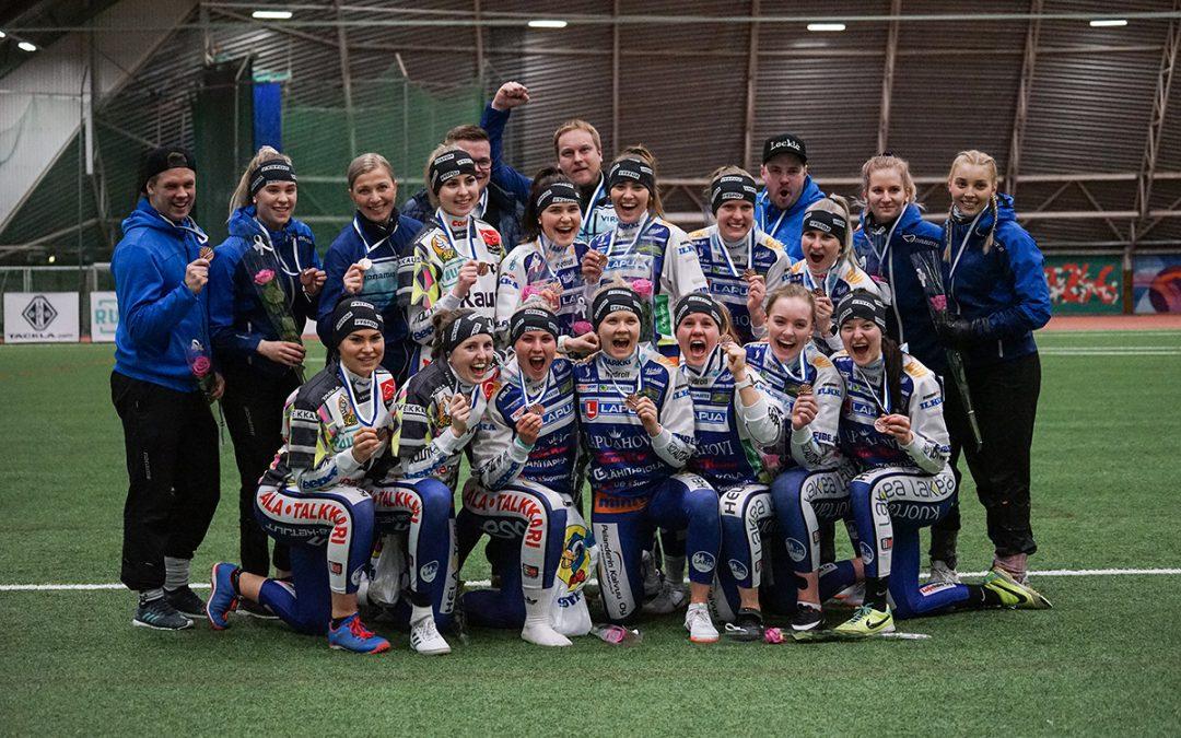 Lapuan Virkiä päätti Halli-SM-turnauksensa komeaan voittoon!