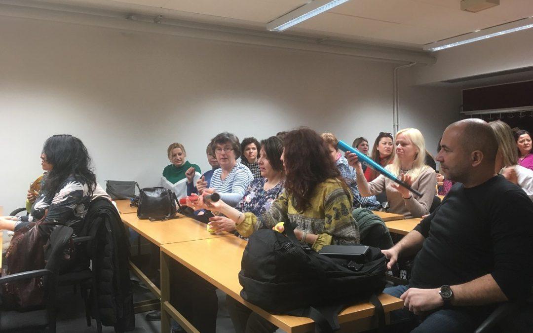"""Erasmus Plus -opettajat vierailulla Suomessa: """"Hienoa, että teillä on urheilussa muitakin vaihtoehtoja"""""""
