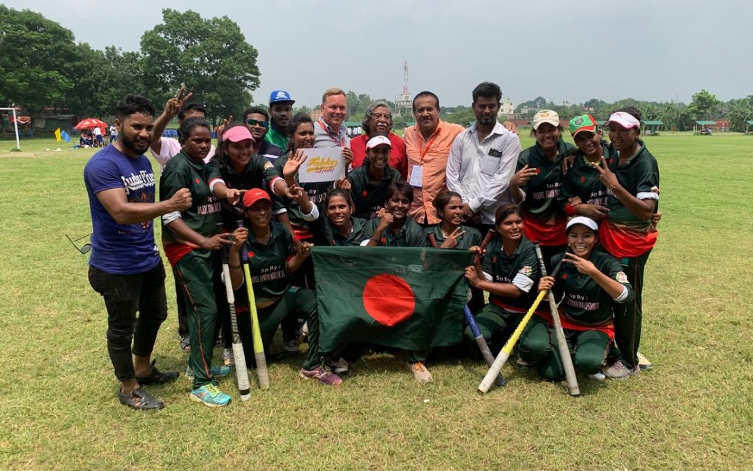 Matkakertomus Aasian Pesäpallomestaruusturnauksesta: Bangladesh menestyi viiden sarjan voittajana!
