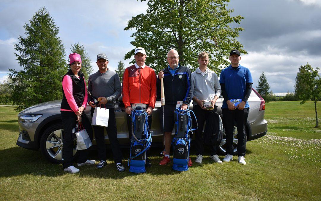 Itä-Länsi Golf Open innosti mukaan 70 pelaajaa
