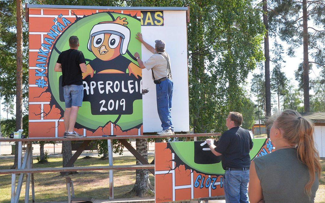 Kankaanpää ja Pomarkku vastaanottavat perheiden pienimmät loppuviikoksi Naperoleirille
