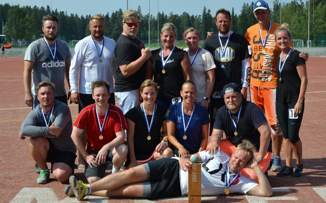 Hulvattoman hauska viikonloppu Harrastepesiksen SM-turnauksessa Tampereella 27.-28.7. – ilmoittaudu nyt!
