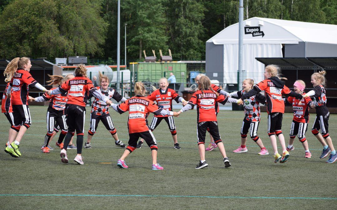 Savo-Karjalan alueen joukkueet Tenavaleirillä 2019