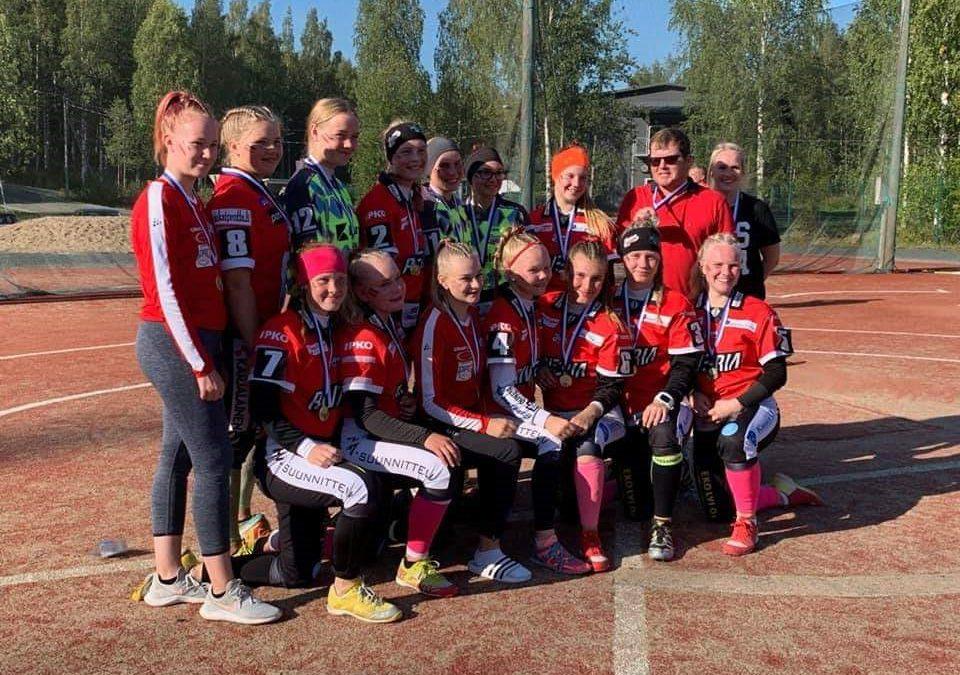 C-ikäisten mitaliturnaukset paketoivat junioreiden pesiskesän Savo-Karjalassa