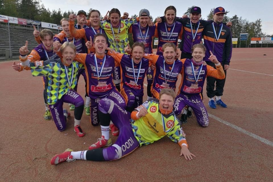 Sotkamon Jymy on B-poikien Suomen mestari