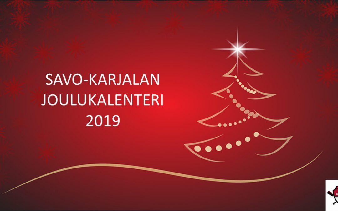 Savo-Karjalan joulukalenteri 2019