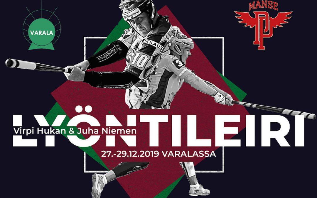 Nyt lyödään kovaa – Virpi Hukan ja Juha Niemen lyöntileiri Tampereella joulun välipäivinä!