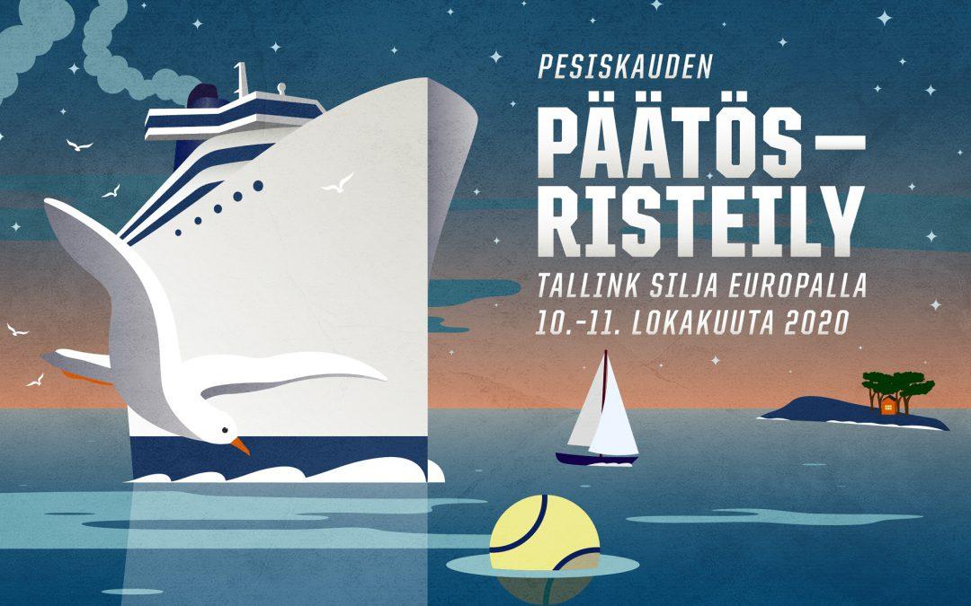 Pesäpallokauden päätösristeily tuo pesisväen yhteen Tallinkin Silja Europalle 10.–11.10.