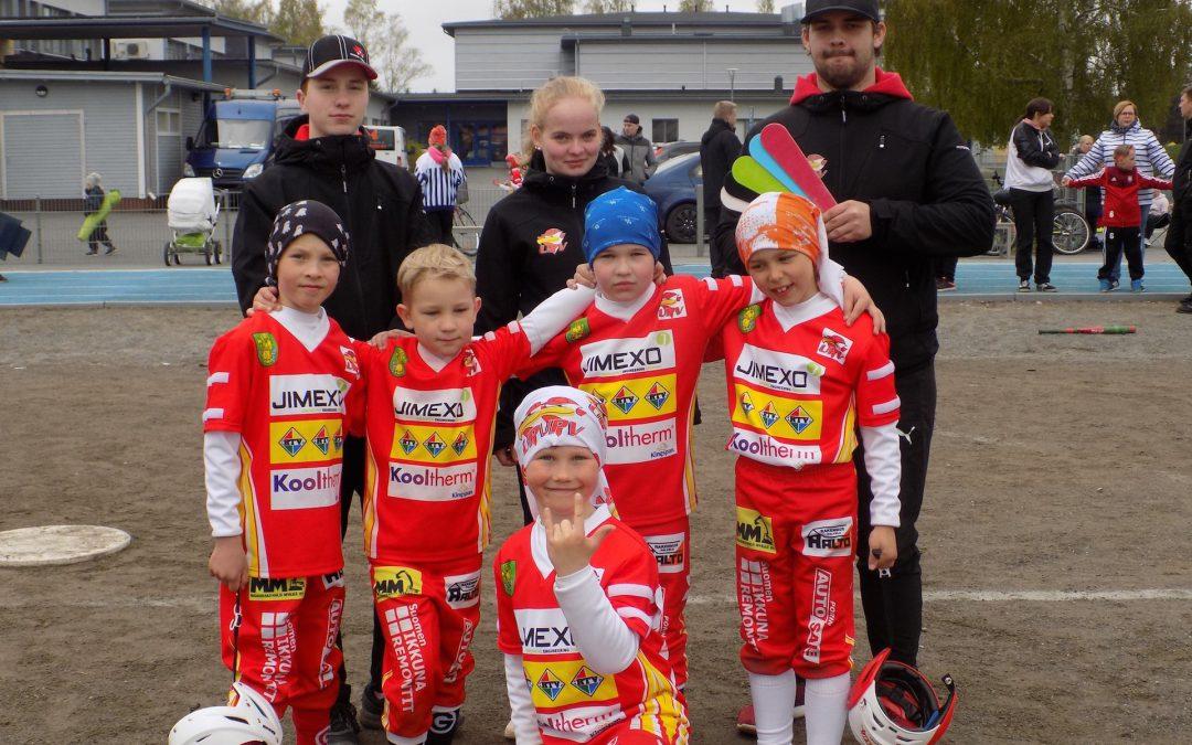 20 nopeinta saa paikan F-G-ikäisten Pienpesisturnaukseen Ulvilaan 9.5.