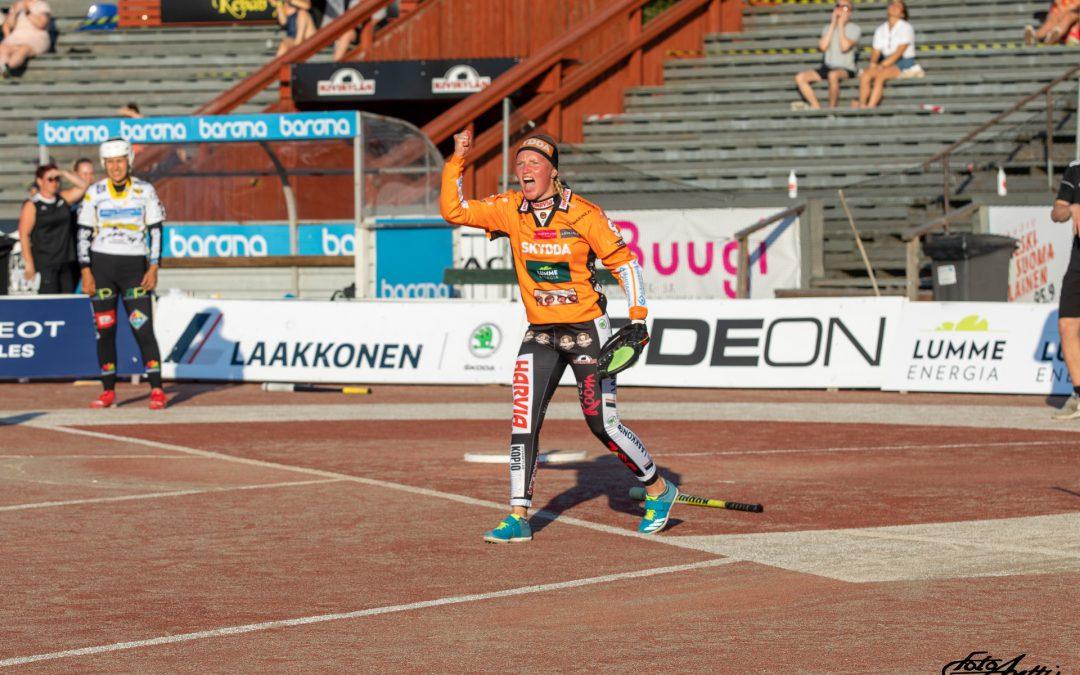 Vuoden lukkari Mari Mantsinen edustaa Kirittäriä myös kaudella 2021!