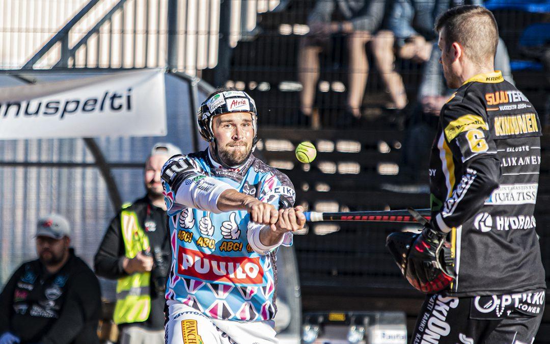 Jukka-Pekka Vainionpäälle täyteen 1000 lyötyä miesten Superpesiksessä!