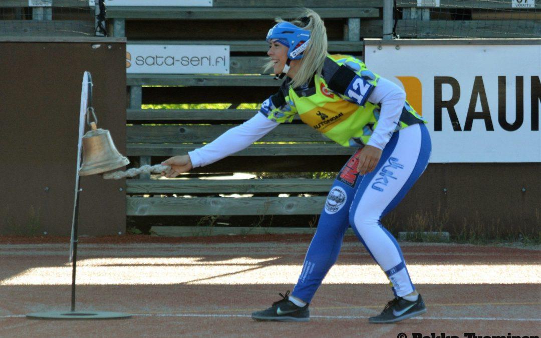 Video: Julia Valtanen voitti Ruotsi-ottelun keihään – tyttöjen loppuottelu Kempeleessä maanantaina!