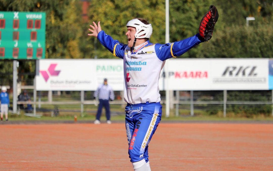 Oulun Lippo saa kaksi ottelupalloa superpesispaikkaan!