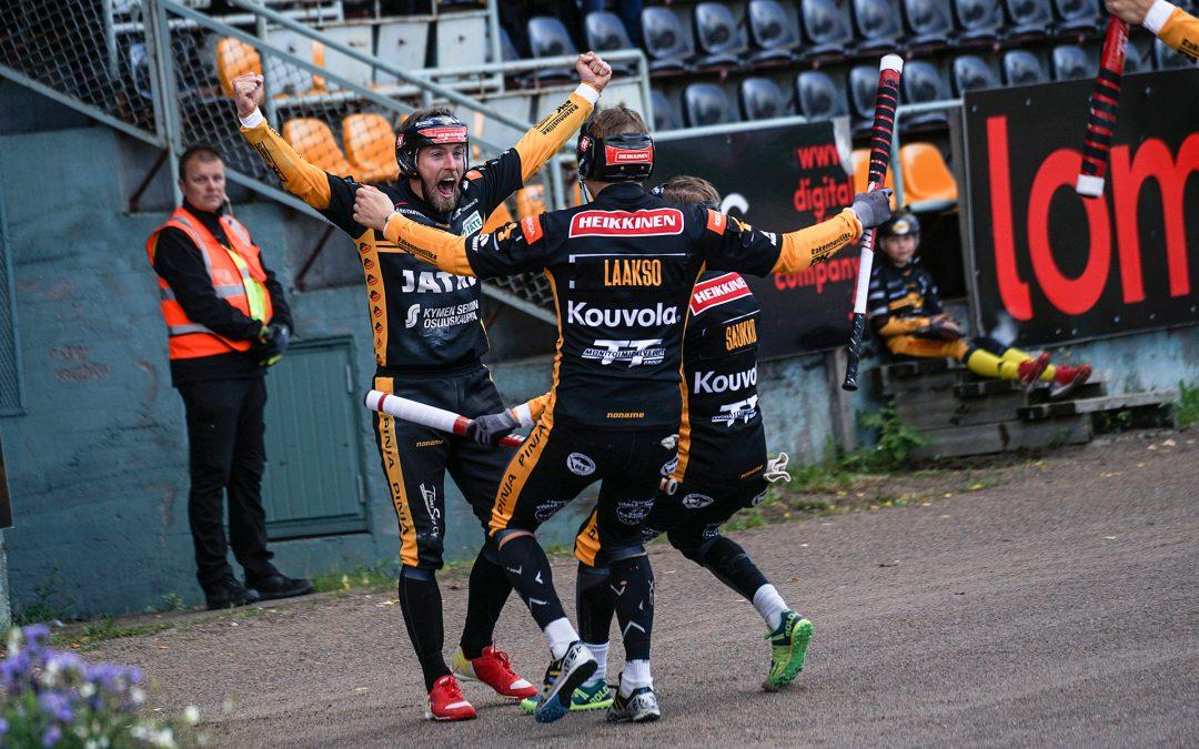 Kouvolan Pallonlyöjät pudotti Joensuun Mailan loppuottelusta – miesten Suomen mestari vaihtuu!