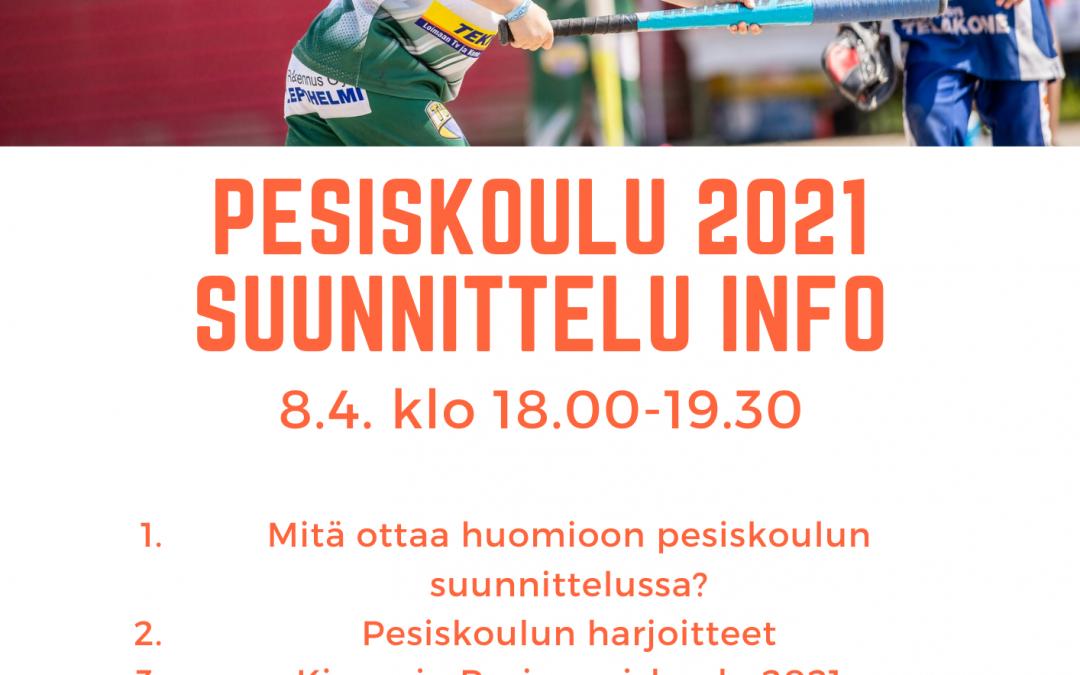 Kesällä pesiksen pariin – pesiskoulun suunnittelutilaisuus 8.4.