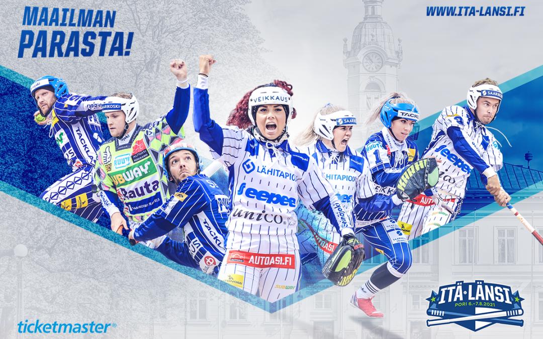 Pesäpallon Itä-Länsi Porissa siirtyy – uusi ajankohta on 6.–7.8.