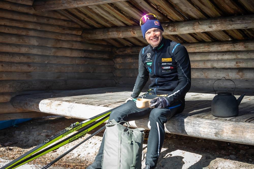 Olympiavoittaja Iivo Niskanen Nuorisoleirin urheilijakummiksi