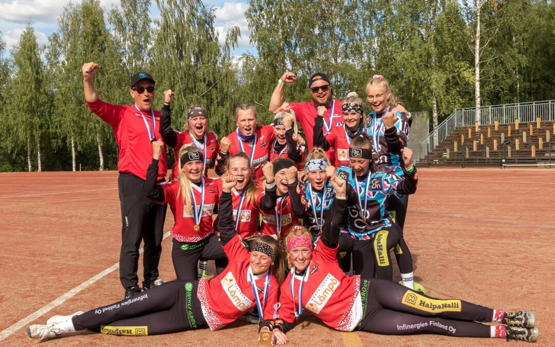 Haapajärven Pesä-Kiilat voitti C-tyttöjen Suomen mestaruuden – kova juttu koko alueen pesäpallolle!