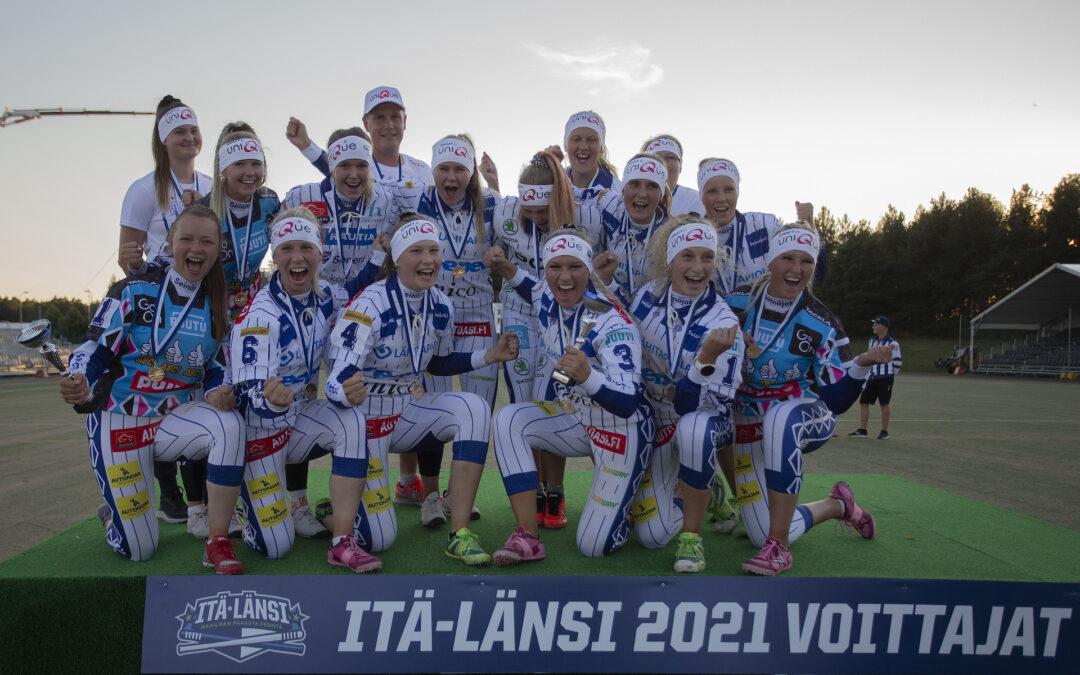Viihdyttävä tyttöjen arvo-ottelu huipensi Itä-Länsi-perjantain – Lännelle neljäs peräkkäinen voitto!